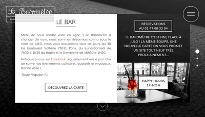 Site internet de Le Barometre
