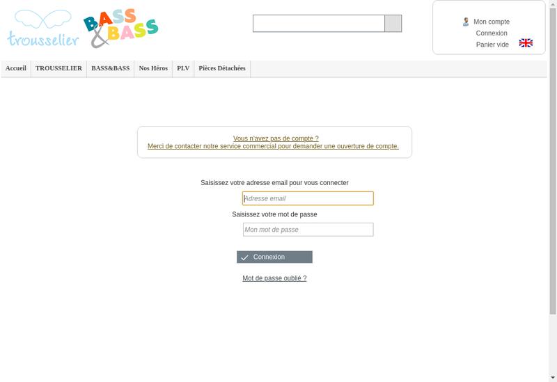 Capture d'écran du site de Societe Bass et Bass