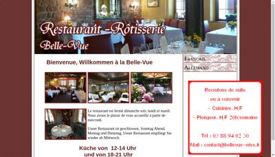 Capture d'écran du site de Alsatrade