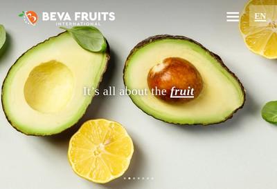 Site internet de Beva Fruits