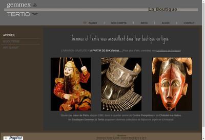 Site internet de SARL Gemmex
