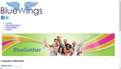 Site internet de Bluewings