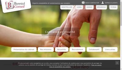 Site internet de Bonniol et Associes