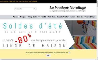 Site internet de Nova Linge