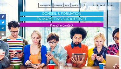 Site internet de Braquet Consulting