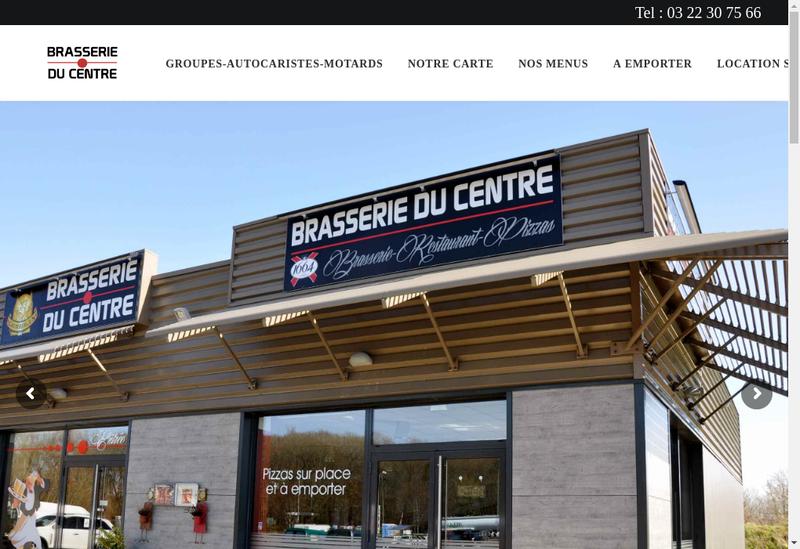 Capture d'écran du site de Hotel du Port, Restaurant les Bains