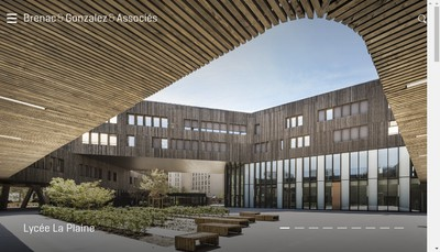 Site internet de Atelier d'Architecture Brenac-Gonzalez & Associes