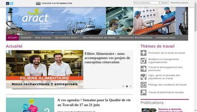 Site internet de Aract Bretagne