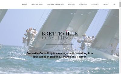 Site internet de Bretteville Consulting