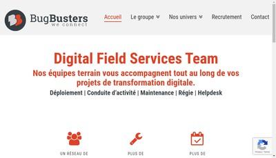 Site internet de Bugbusters We Deploy It