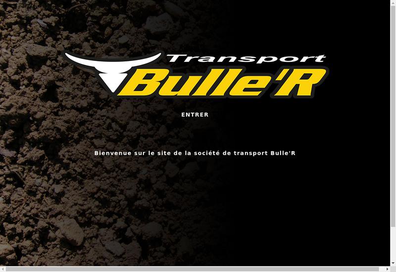 Capture d'écran du site de Bulle R