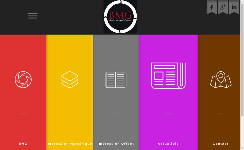 Site internet de Bmg