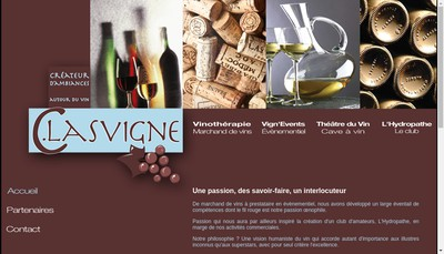 Site internet de Vinotherapie