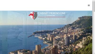 Site internet de Cabinet Merengone et Associes
