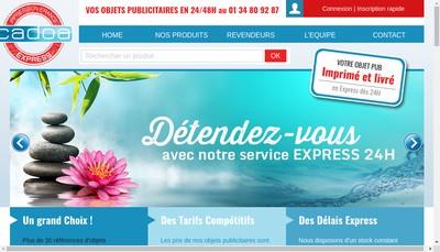 Site internet de Cadoa