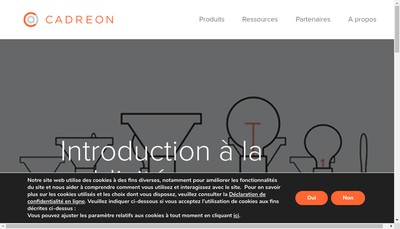 Site internet de Cadreon France