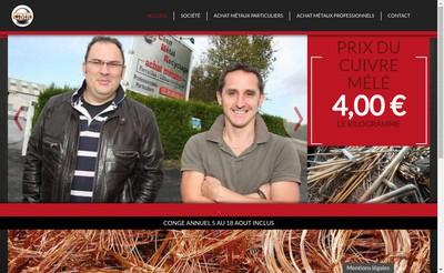 Site internet de Caen Metal Recyclage