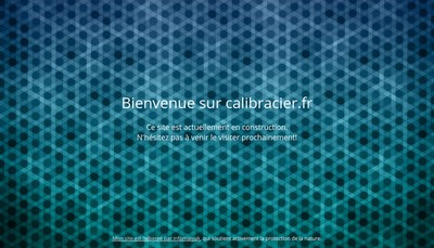 Site internet de Calibracier