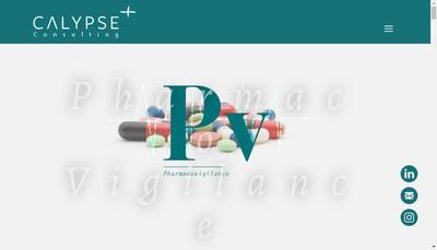 Site internet de Calypse Consulting