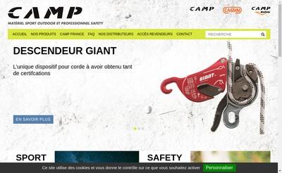 Site internet de Camp France