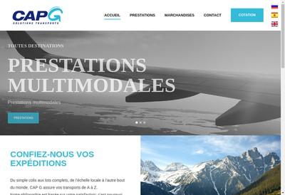 Site internet de Cap G