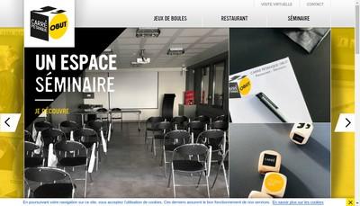 Site internet de Carre Petanque