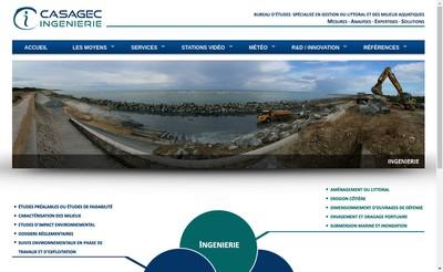 Site internet de Casagec