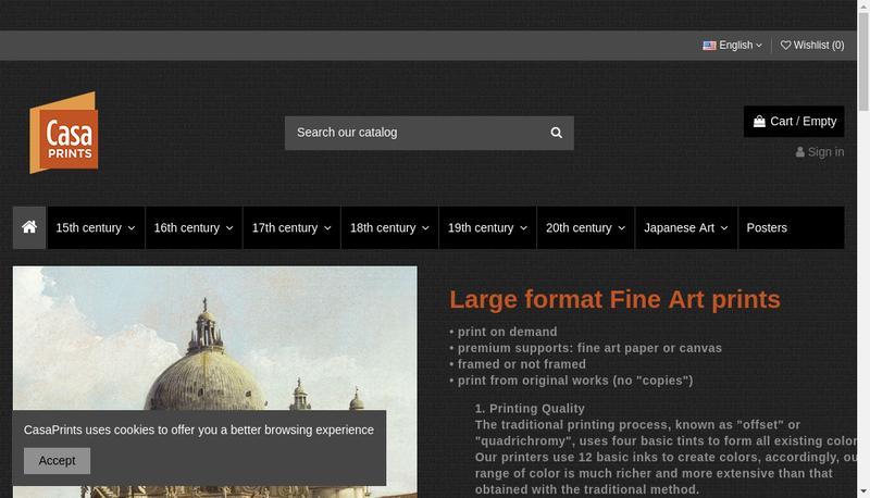 Capture d'écran du site de Image Vector