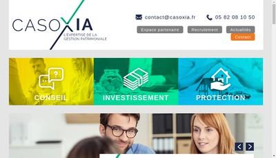 Site internet de Casoxia Conseil