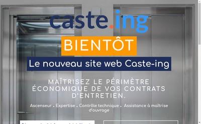 Site internet de Caste Ing