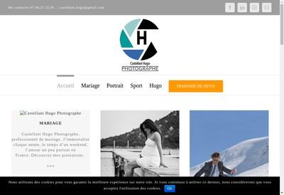 Site internet de Hugo Castellani Photographe