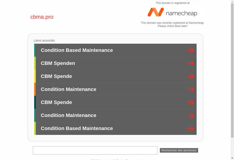 Capture d'écran du site de Cbma Concept Bois Menuiserie Asso