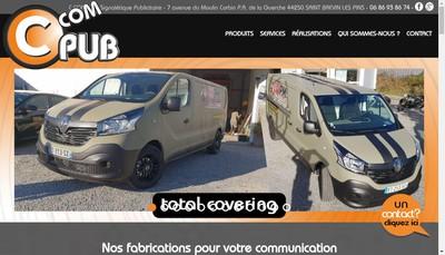 Site internet de Ccompub