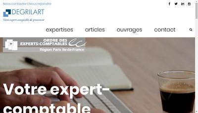 Site internet de Cdegrilart Expert
