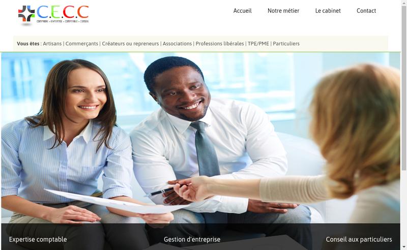 Capture d'écran du site de Compaore-Expertise-Comptable-Conseil
