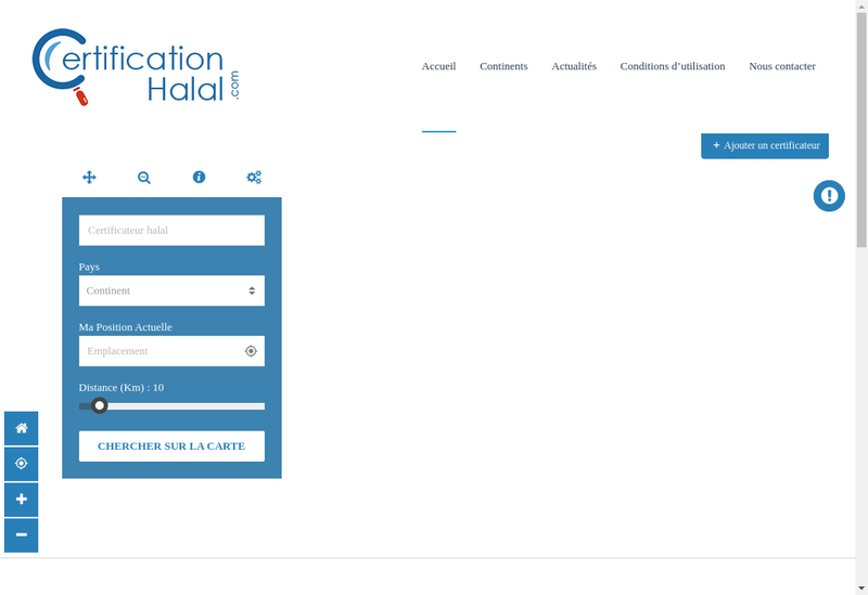 Capture d'écran du site de Altakwa
