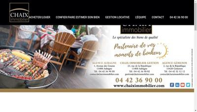 Site internet de Cabinet Marlene Chaix