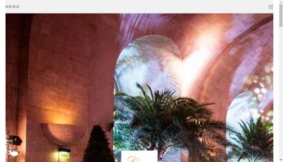 Capture d'écran du site de Charles Patissier