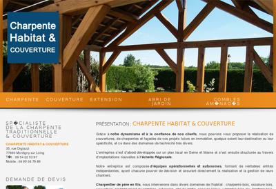 charpente habitat couverture