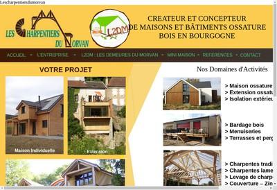 Site internet de Les Charpentiers du Morvan