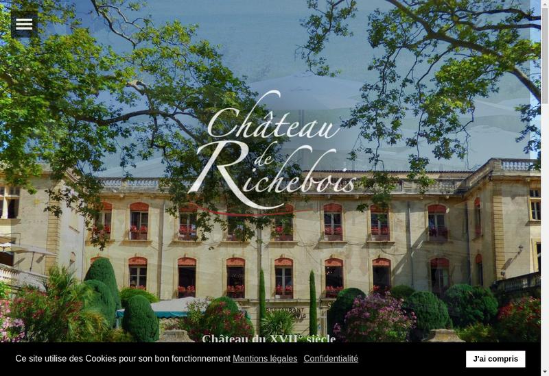 Capture d'écran du site de Le Club 3 de Richebois