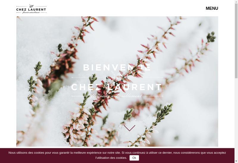 Capture d'écran du site de Rose et Moi