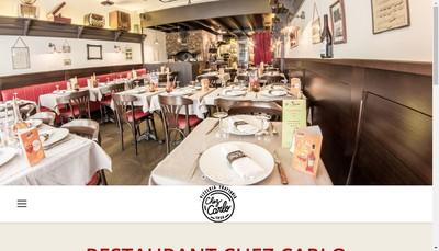 Site internet de Chez Carlo