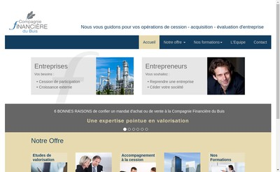 Site internet de Compagnie Financiere du Buis