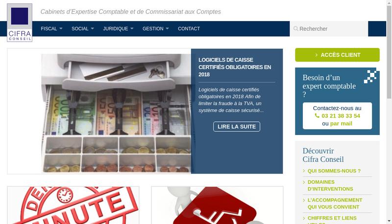 Site internet de Cclm