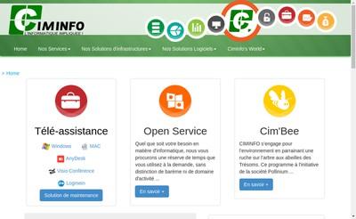 Site internet de Ciminfo