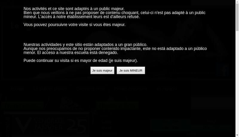 Capture d'écran du site de Le Cinquieme Element