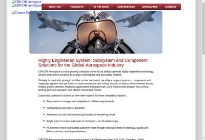 Site internet de Circor Industria