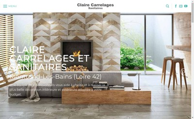 Site internet de Claire Carrelage