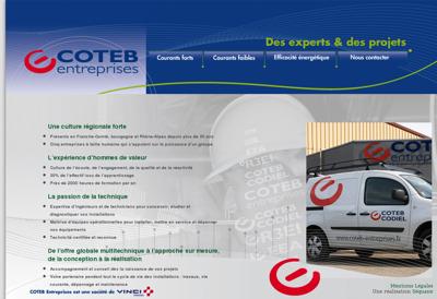 Capture d'écran du site de Coexiste